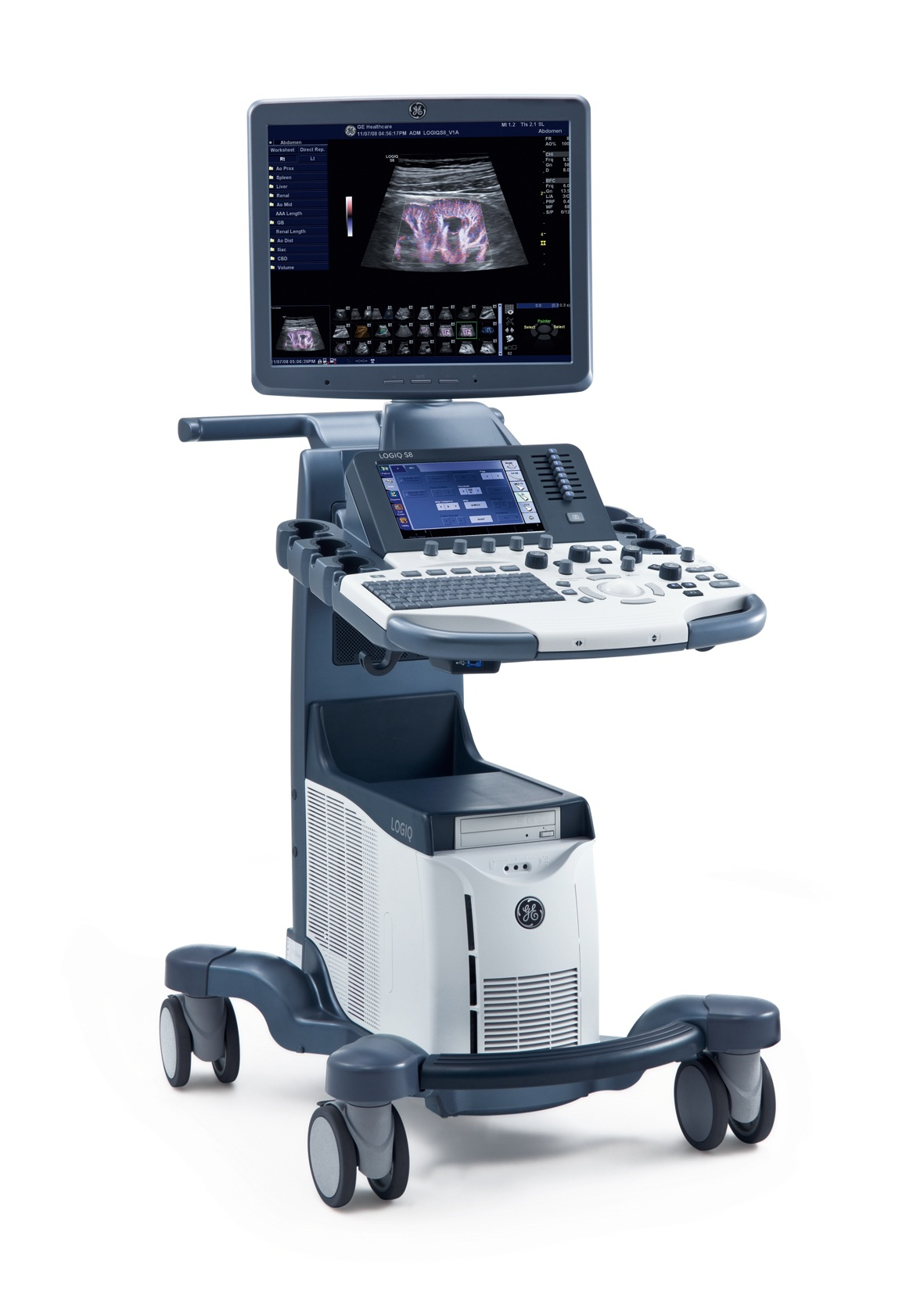 Ge Logiq S8 Ultrasound System Ge Logiq S8 Parts St